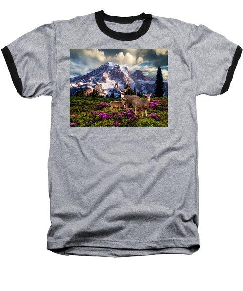 Mountain High Meadow Baseball T-Shirt