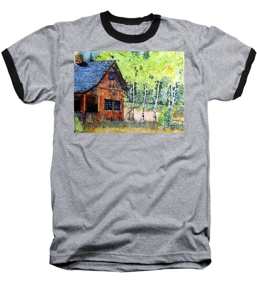 Mountain Home Baseball T-Shirt by Tom Riggs
