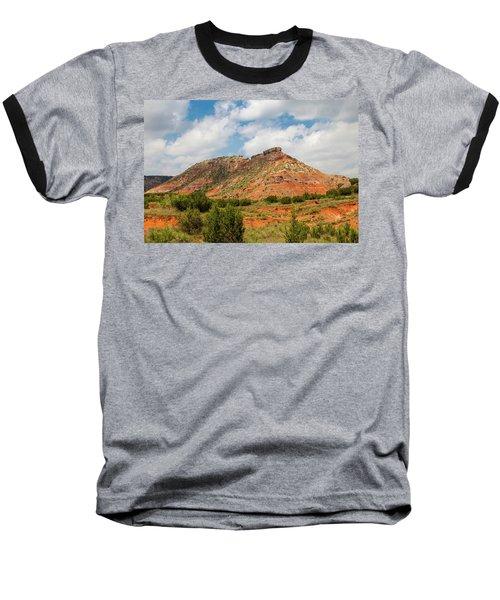 Mountain In Palo Duro Canyons Baseball T-Shirt