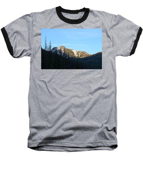 Mountain In Rocky Mountian Np Co Baseball T-Shirt