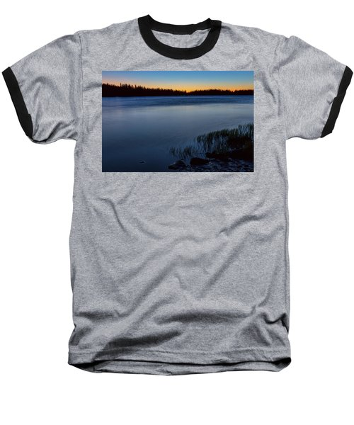 Baseball T-Shirt featuring the photograph Mountain Lake Glow by James BO Insogna