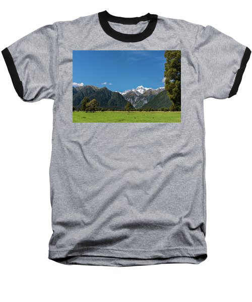 Baseball T-Shirt featuring the photograph Mountain Landscape by Gary Eason