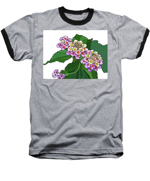 Mountain Laurel Baseball T-Shirt by Jamie Downs