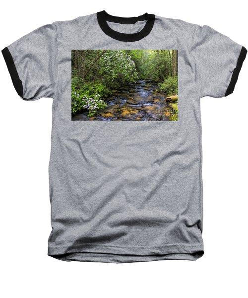 Mountain Laurels Light Up Panther Creek Baseball T-Shirt