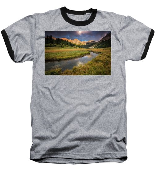 Mountain Light Baseball T-Shirt