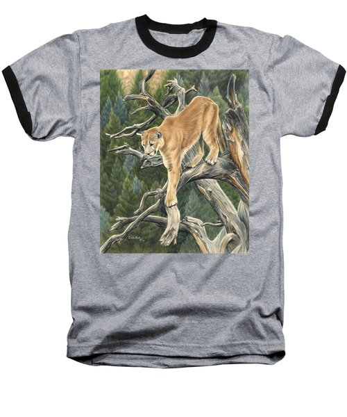 Mountain Lion Baseball T-Shirt