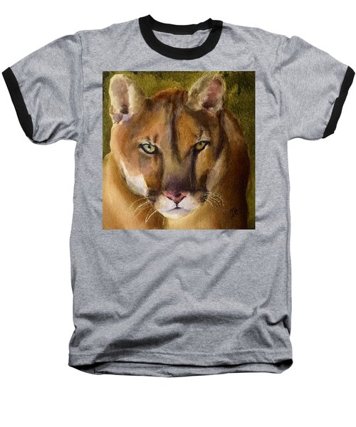 Mountain Lion Baseball T-Shirt