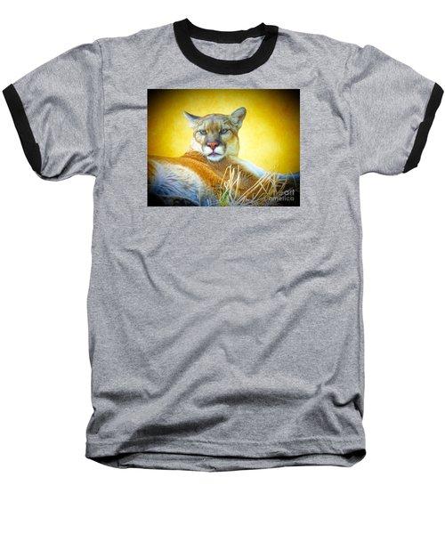 Mountain Lion Two Baseball T-Shirt