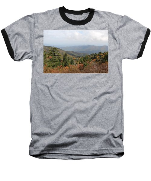 Mountain Long View Baseball T-Shirt
