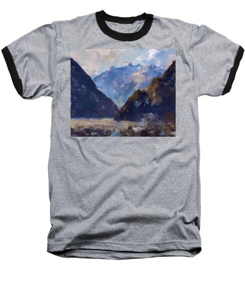 Mountain Majesty Baseball T-Shirt