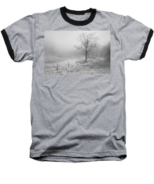 Mountain Mist Baseball T-Shirt by William Beuther