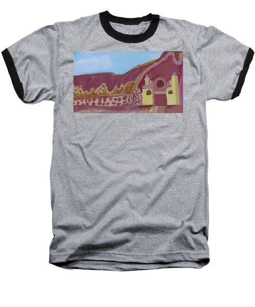 Mountain Mission Baseball T-Shirt by Don Koester