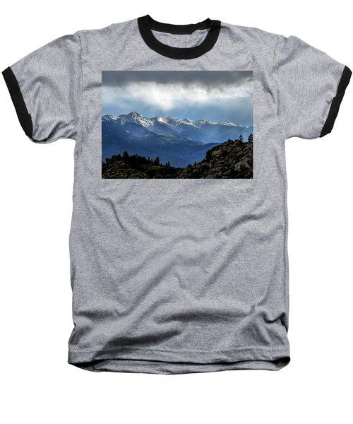 Mountain Moodiness Baseball T-Shirt