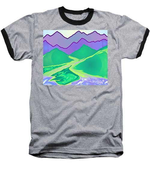 Mountain Murmurs Baseball T-Shirt