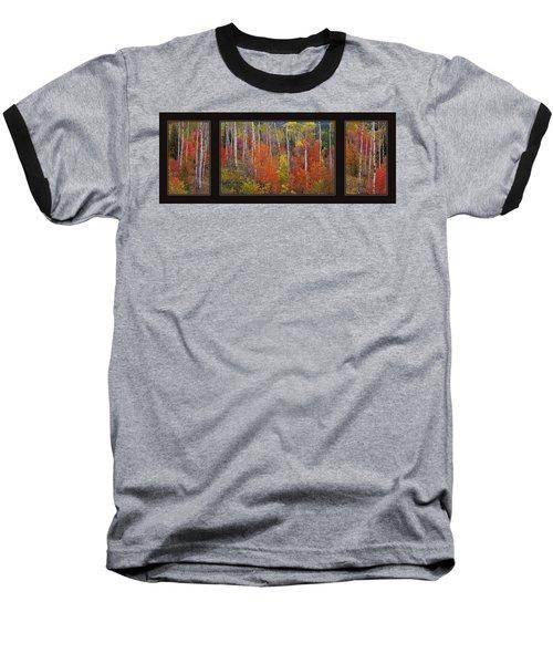 Mountain Of Color Baseball T-Shirt
