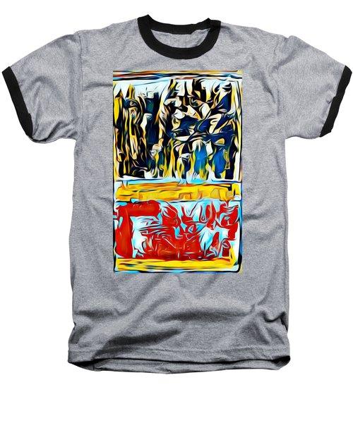 Mountain Of Many Faces Baseball T-Shirt