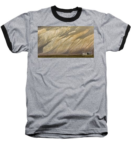 Mountain Patterns, Padum, 2006 Baseball T-Shirt