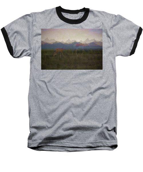 Mountain Pronghorns Baseball T-Shirt
