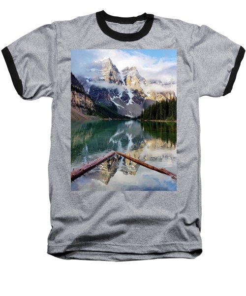 Mountain Reflections Baseball T-Shirt