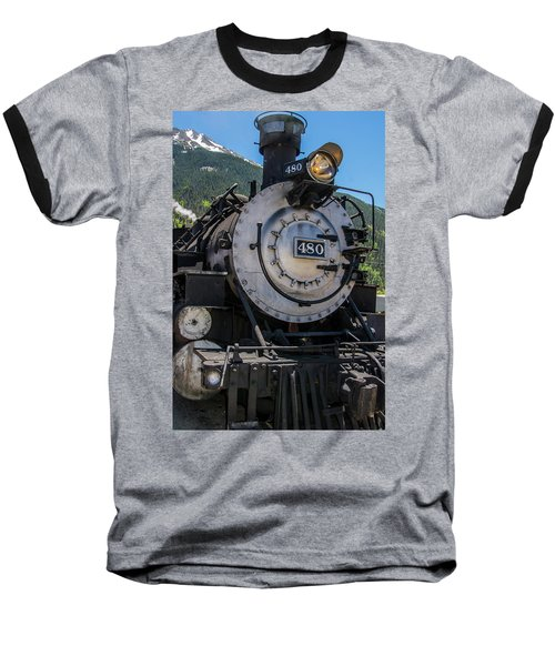 Baseball T-Shirt featuring the photograph Mountain Ride by Colleen Coccia