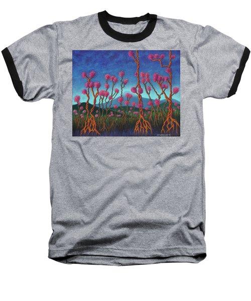 Mountain Roots 01 Baseball T-Shirt