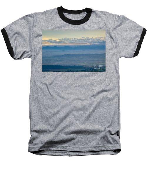 Mountain Scenery 11 Baseball T-Shirt by Jean Bernard Roussilhe
