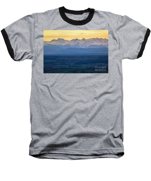 Mountain Scenery 15 Baseball T-Shirt