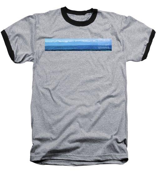 Mountain Scenery 16 Baseball T-Shirt