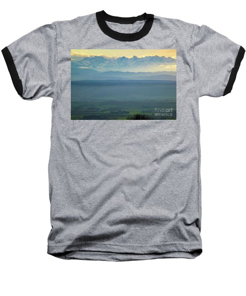 Mountain Scenery 18 Baseball T-Shirt
