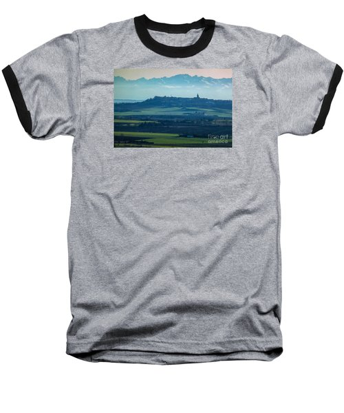 Mountain Scenery 4 Baseball T-Shirt