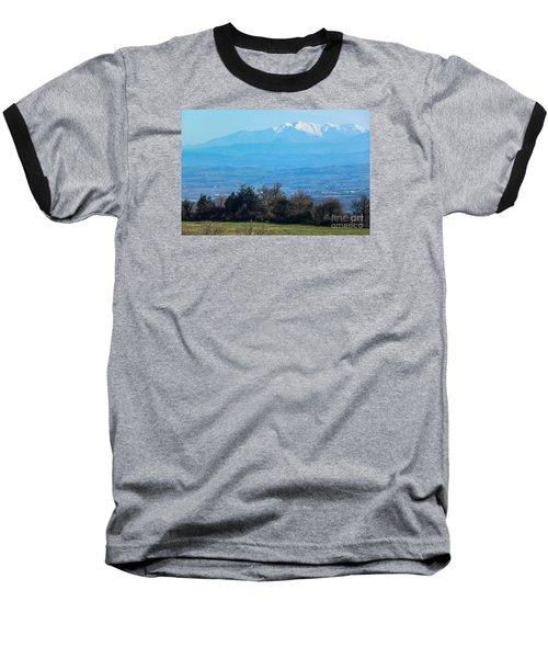 Mountain Scenery 6 Baseball T-Shirt