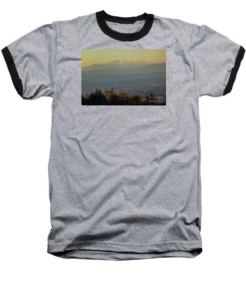 Mountain Scenery 8 Baseball T-Shirt