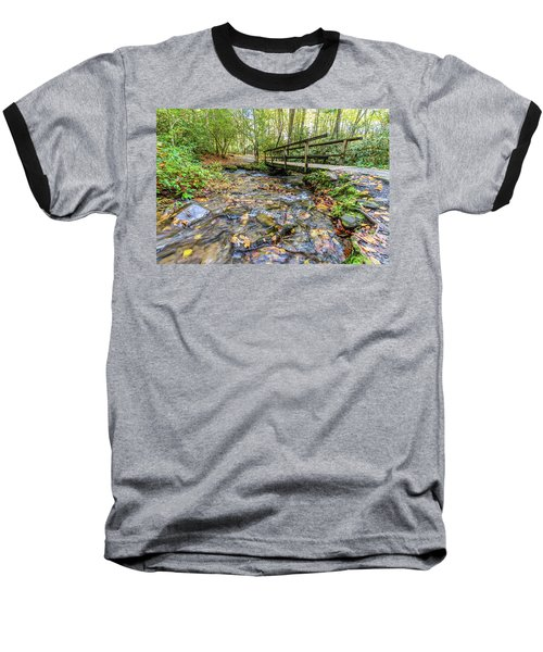 Mountain Stream #2 Baseball T-Shirt