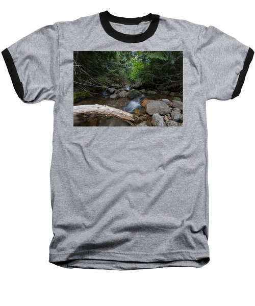 Baseball T-Shirt featuring the photograph Mountain Stream by Fran Riley