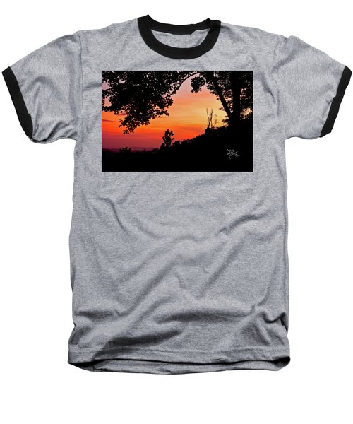 Baseball T-Shirt featuring the photograph Mountain Sunrise by Meta Gatschenberger