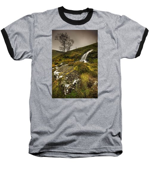 Mountain Tears Baseball T-Shirt by John Chivers