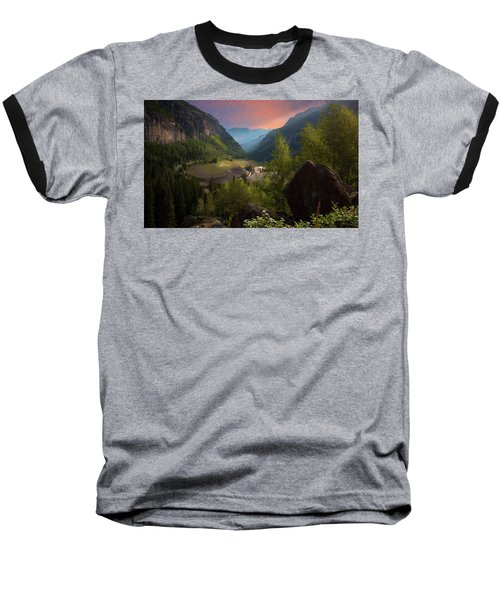 Mountain Time Baseball T-Shirt