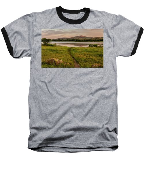 Mountain Trail Baseball T-Shirt
