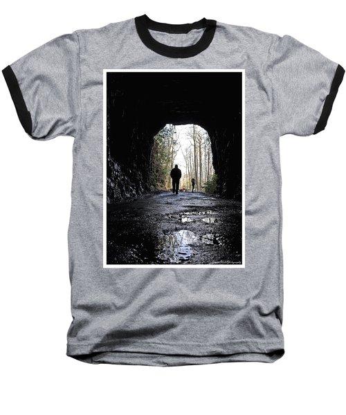 Mountain Tunnel Baseball T-Shirt