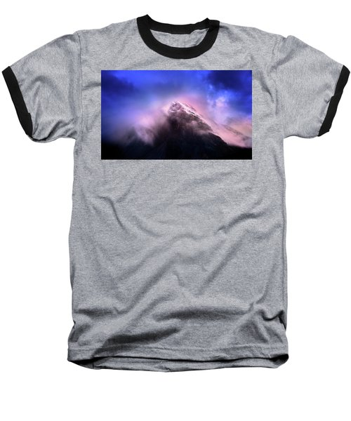 Baseball T-Shirt featuring the photograph Mountain Twilight by John Poon