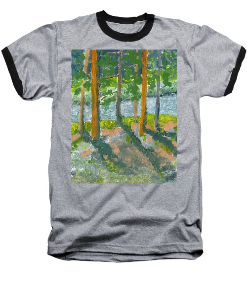 Mountain Valley Baseball T-Shirt by Rodger Ellingson