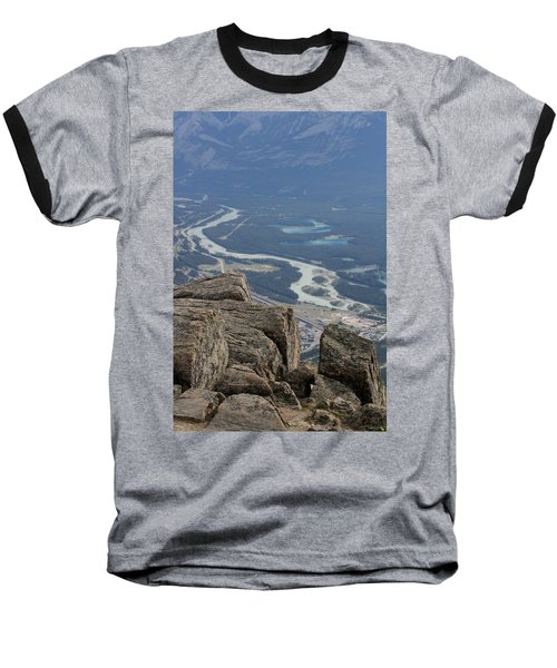Baseball T-Shirt featuring the photograph Mountain View by Mary Mikawoz
