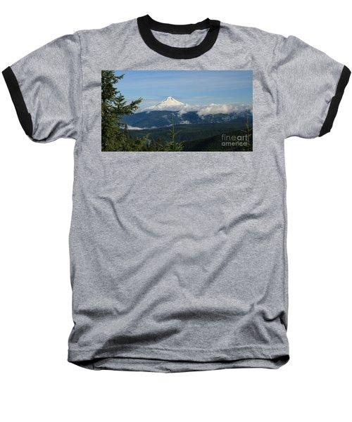 Mountain View Baseball T-Shirt by Sheila Ping