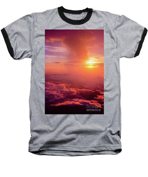 Baseball T-Shirt featuring the photograph Mountain View by Tatsuya Atarashi