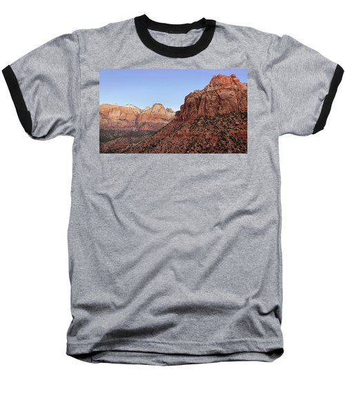 Baseball T-Shirt featuring the photograph Mountain Vista At Zion by James Woody