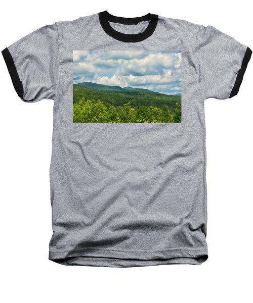 Mountain Vista In Summer Baseball T-Shirt