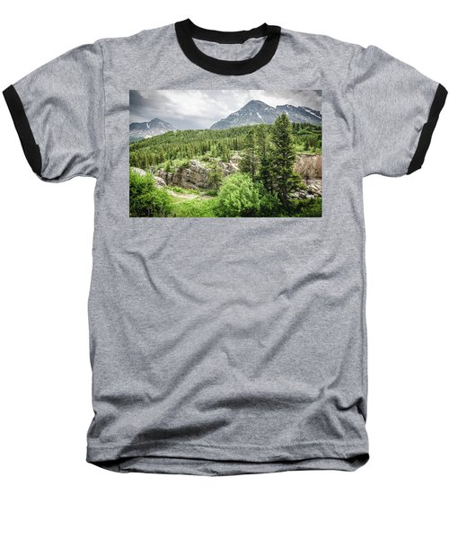 Mountain Vistas Baseball T-Shirt