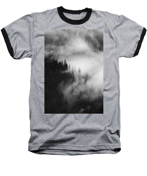 Mountain Whispers Baseball T-Shirt