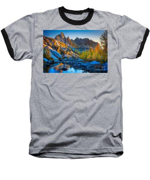 Mountainous Paradise Baseball T-Shirt
