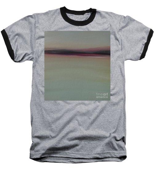 Mountains At Dawn Baseball T-Shirt